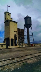 Water tank and coal tower