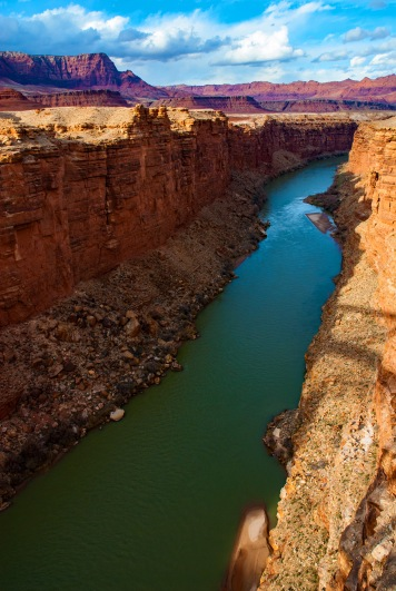 Colorado River looking toward the Grand Canyon