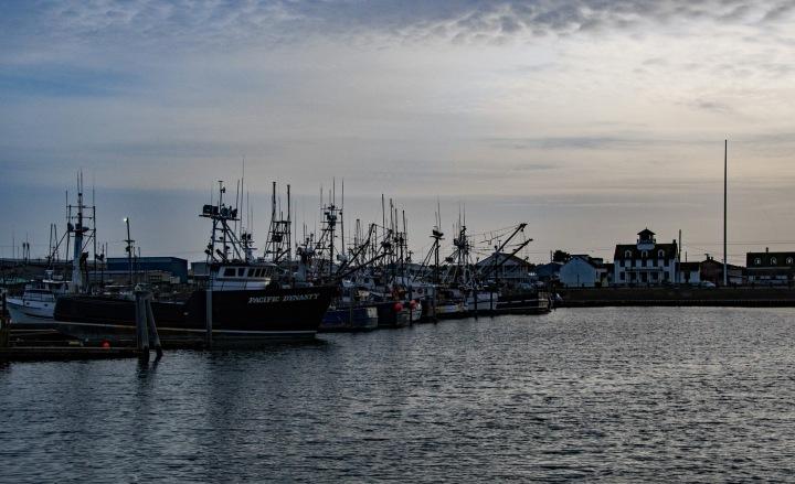 Westport Harbor Sunset 2 wp