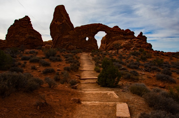 Turret Arch steps wp