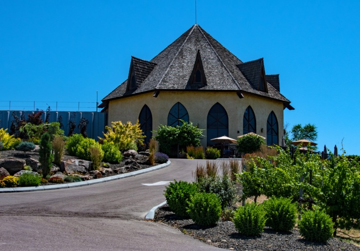 St Chapelle Winery Entrance