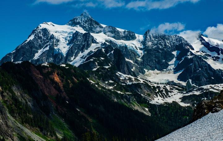 Mt Baker from Artist Point wp