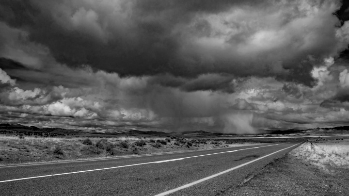 The Road - Delta BW wp