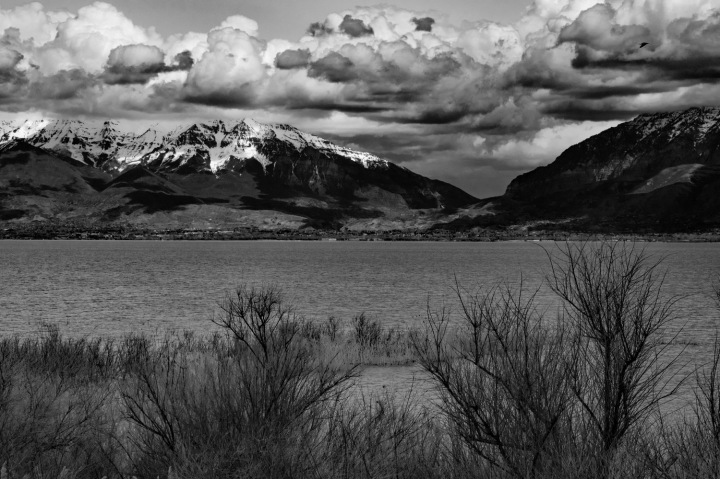 Utah Lake 3 BW wp