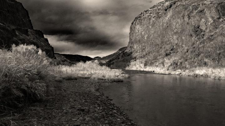 John Day River 3 BW wp